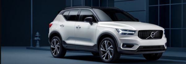 The 2019 Volvo XC40 SUV