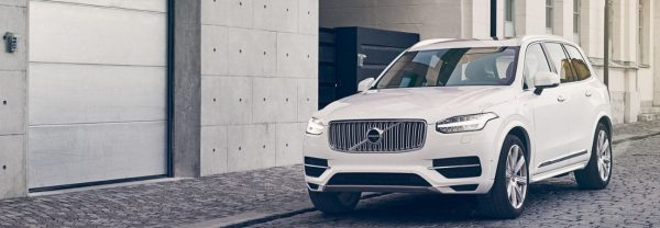 2019 Volvo XC90 parked on the street