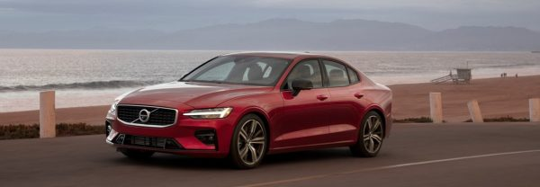 2019 Volvo near beach