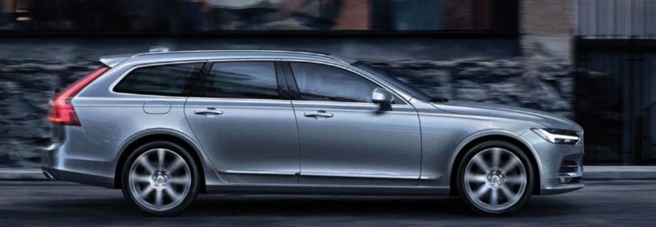 grey Volvo V90